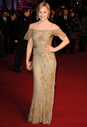 La actriz Abbie Cornish en la premiere de 'Sucker Punch' de Londres