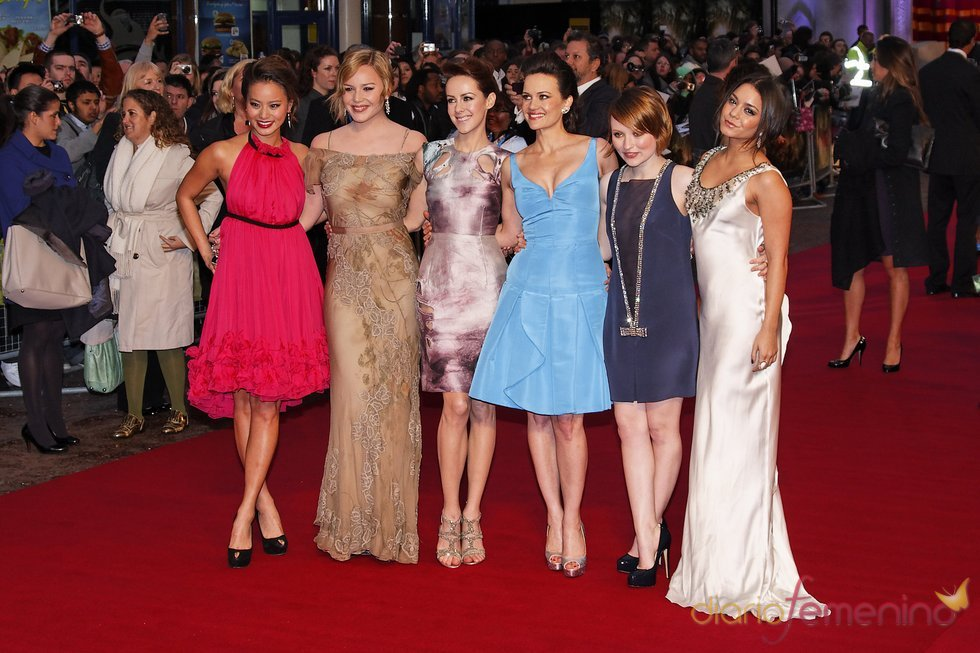 Las actrices de 'Sucker Punch' en la premiere de Londres