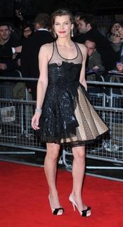 El descuido de Milla Jovovich
