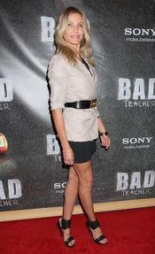 Cameron Diaz presenta en Las Vegas 'Bad teacher'