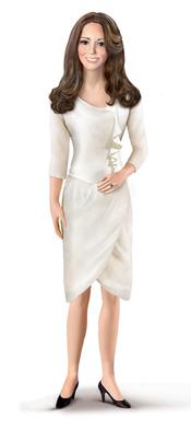 Figura de porcelana de Kate Middleton