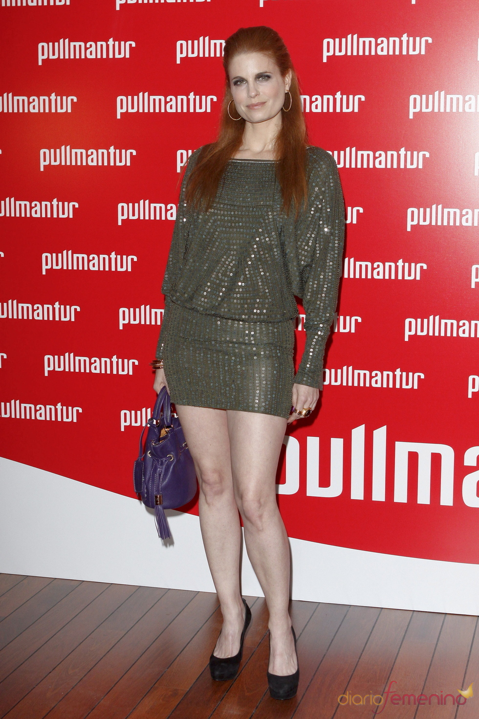 Olivia de Borbón posa a su llegada a la fiesta 'Pullmantur'