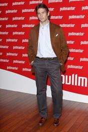 Sebastián Palomo posa a su llegada a la fiesta 'Pullmantur'