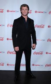 Chris Hemsworth en el Festival CinemaCon