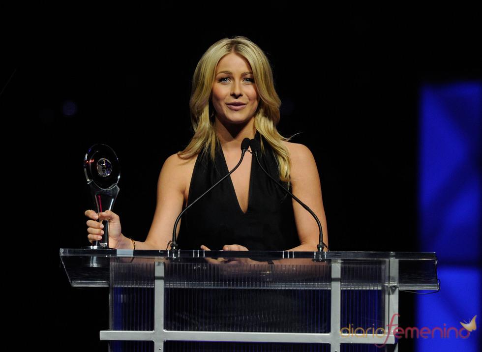 Julianne Hough, premiada en el Festival CinemaCon