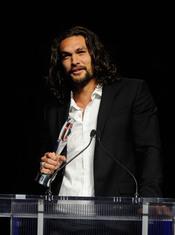Jason Mamoa, premiado en el Festival CinemaCon