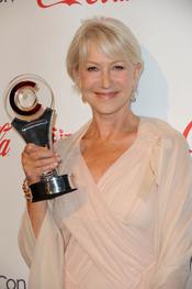 Helen Mirren, premiada en el Festival CinemaCon