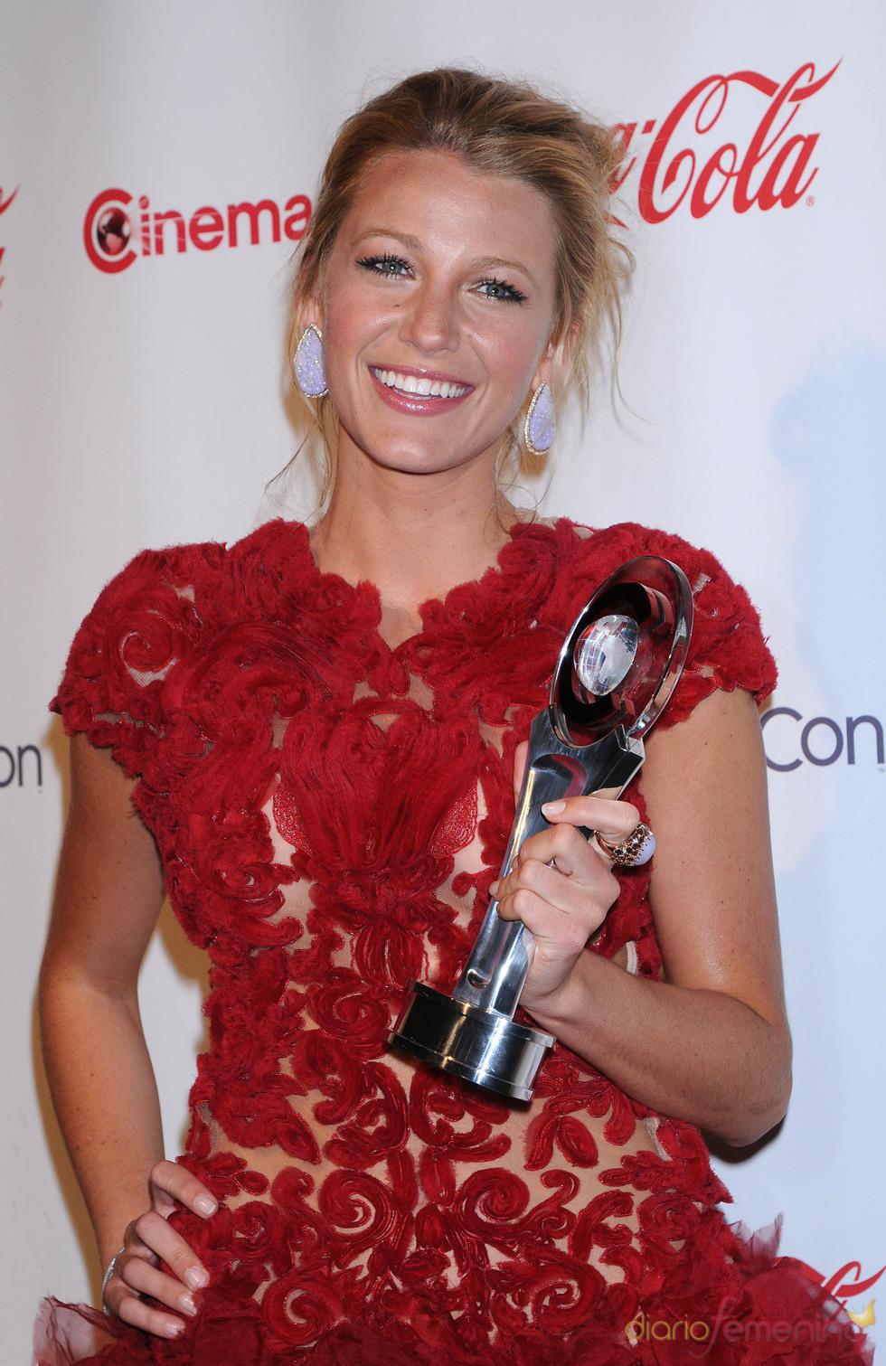 Blake Lively, premiada en el Festival CinemaCon