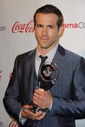 Ryan Reynolds, premiado en el festival CinemaCon
