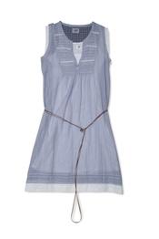 Vestido azul estilo denim de la colección primavera-verano 2011 de Yerse