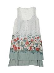 Vestido floreado de la colección primavera-verano 2011 de Yerse