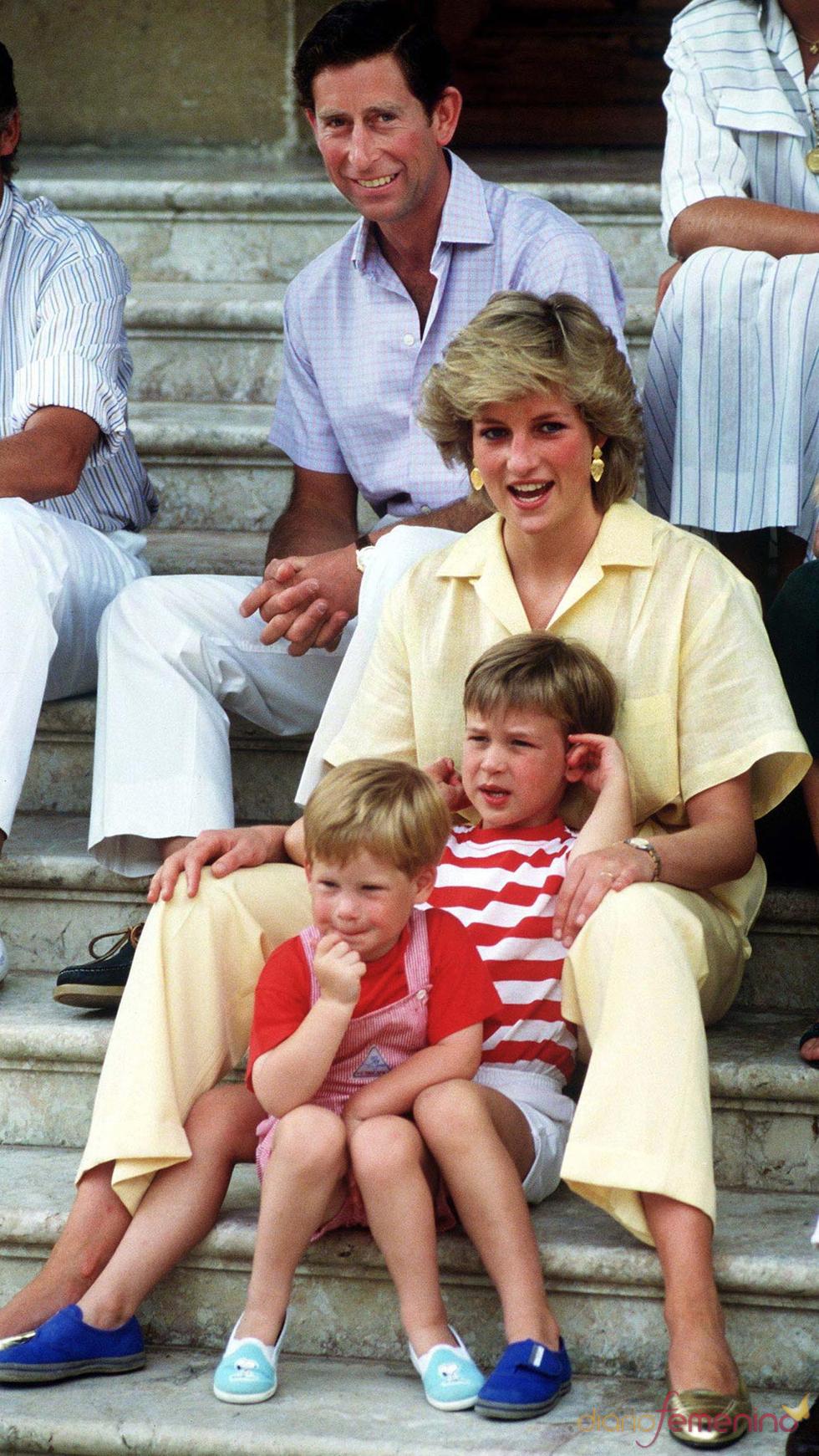 Visita del príncipe Carlos y Diana de Gales a España en 1987
