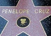 La estrella de Penélope Cruz en el Paseo de la Fama