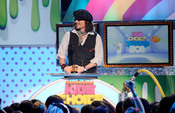 Johnny Depp en la gala de los Kids' Choice Awards