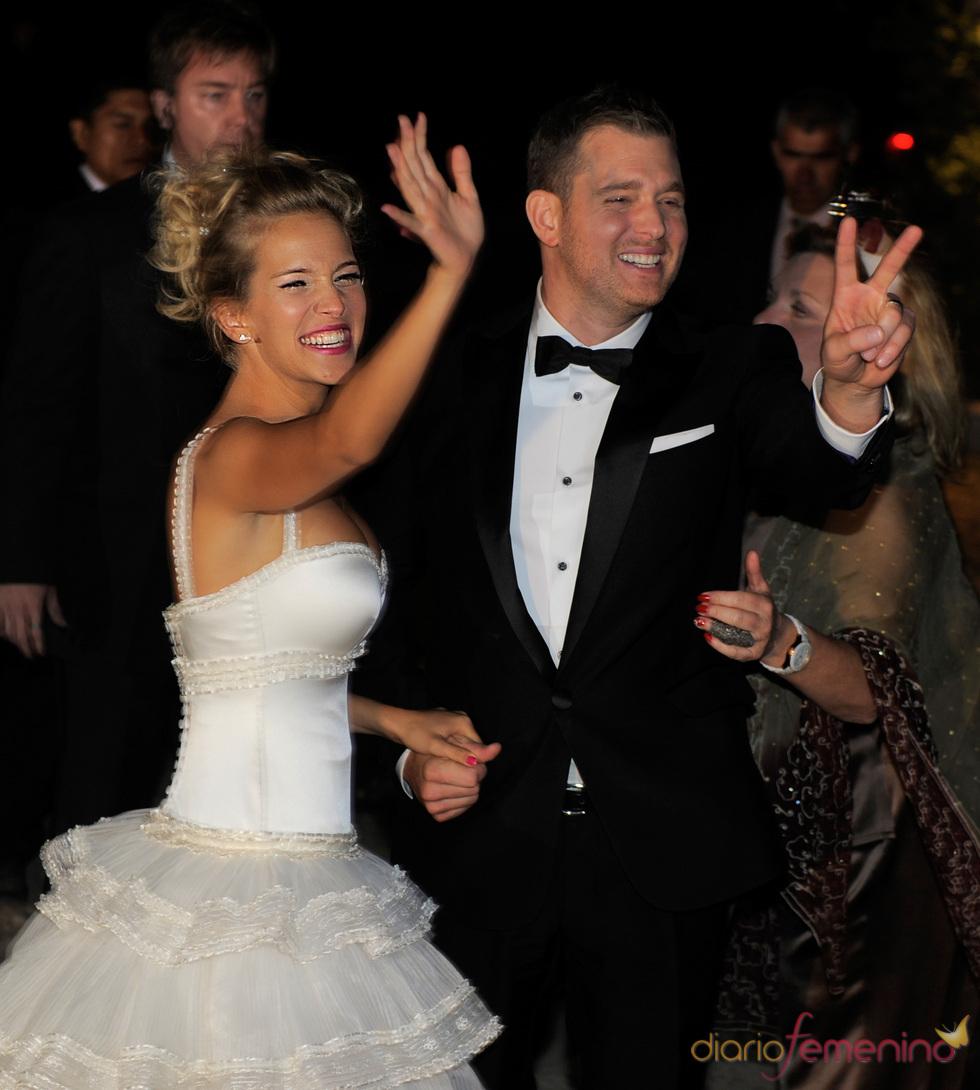 La boda religiosa de Michael Bublé y Luisana Lopilato