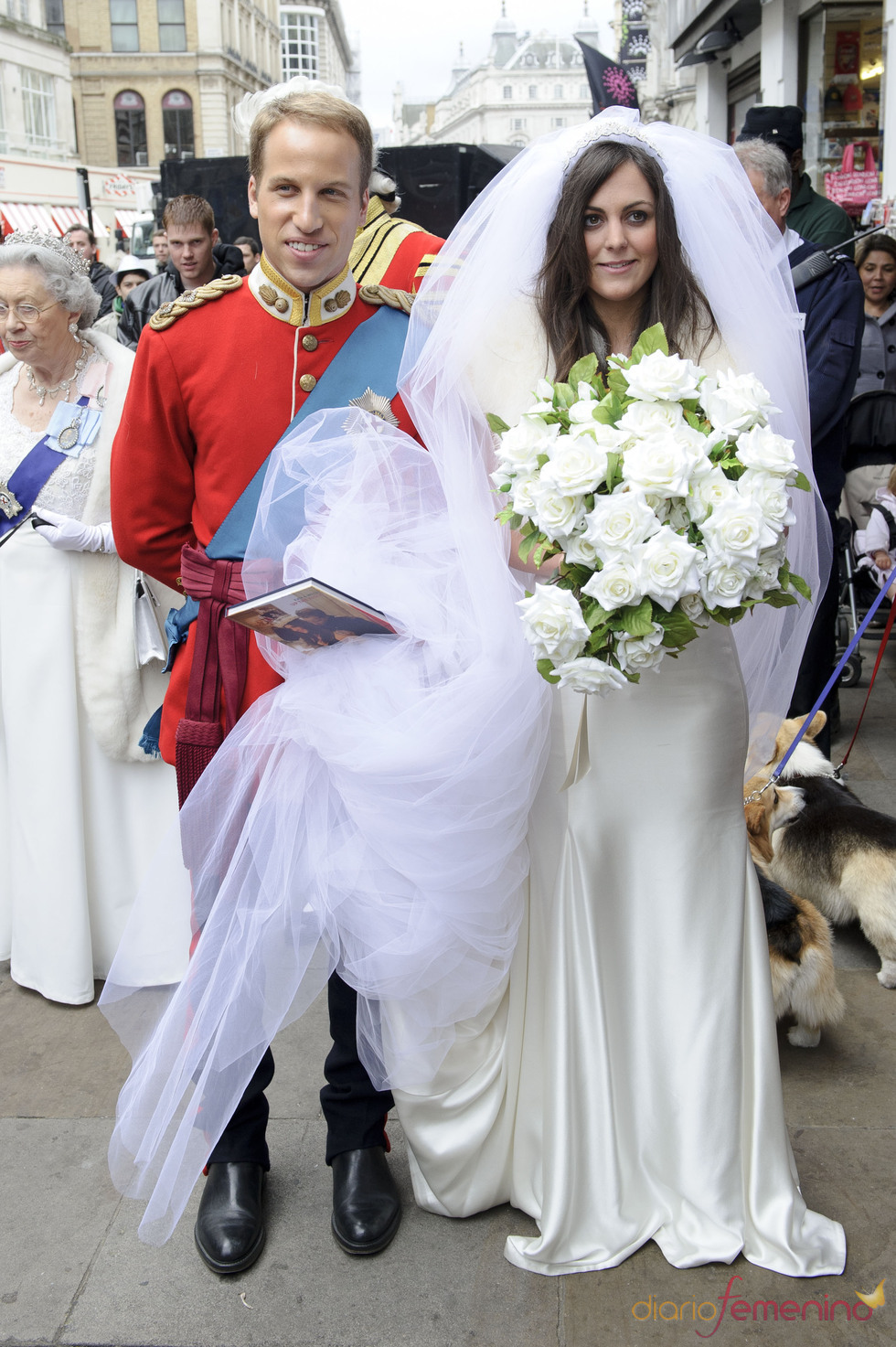Matrimonio Kate Middleton : Los dobles de guillermo inglaterra y kate middleton