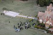 Villa María preparada para la boda de Michael Bublé y Luisana Lopilato
