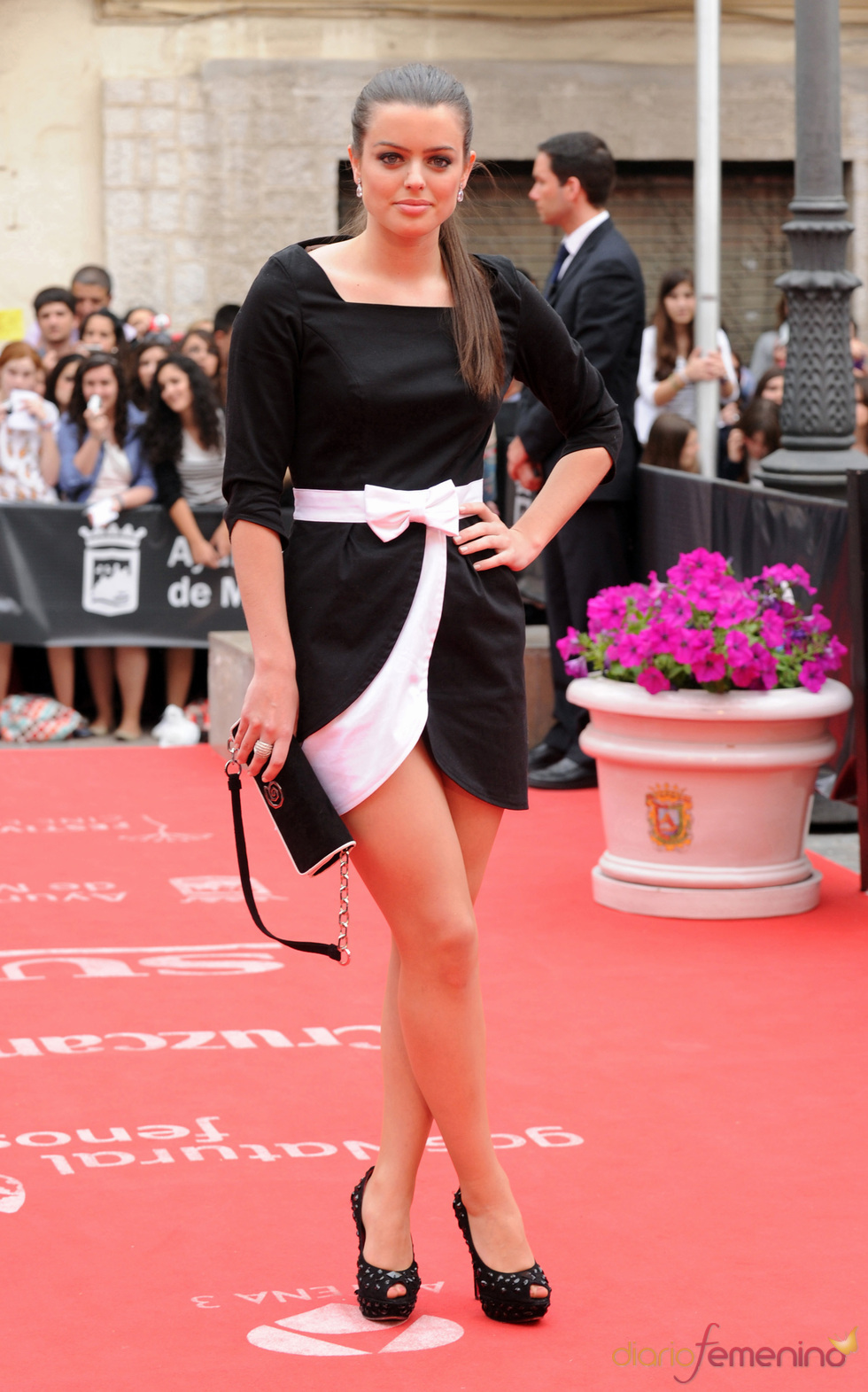Adriana Torrebejano en la clausura del Festival de Cine de Málaga 2011