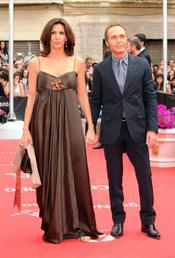 Pastora Vega y Juan Ribó en la clausura del Festival de Cine de Málaga 2011