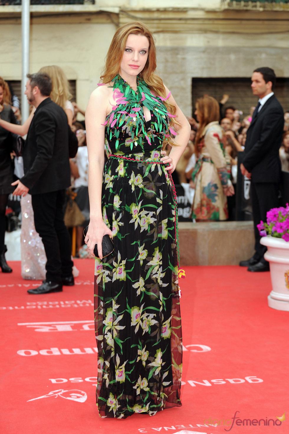 Carolina Bang en la clausura del Festival de Cine de Málaga 2011