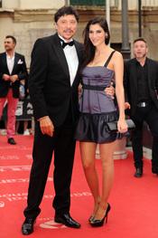 Carlos Bardem y Celia Blanco en el Festival de Cine de Málaga 2011