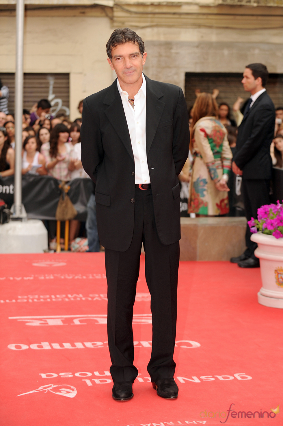 Antonio Banderas en la clausura del Festival de Cine de Málaga 2011