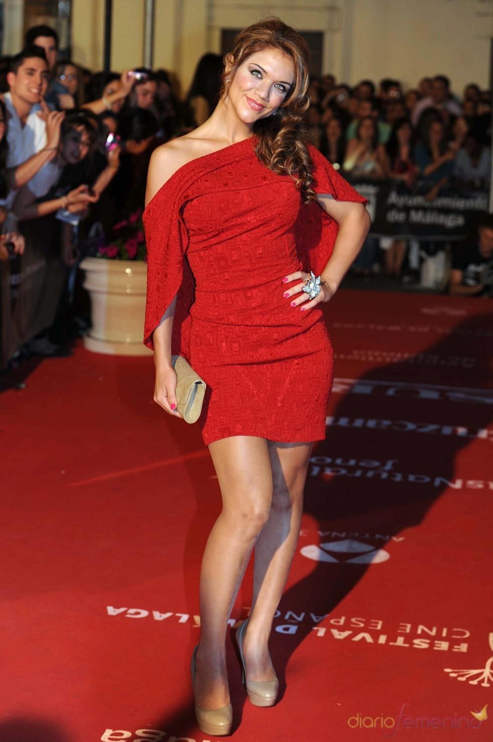 Beatriz Trapote en el Festival de Cine de Málaga 2011