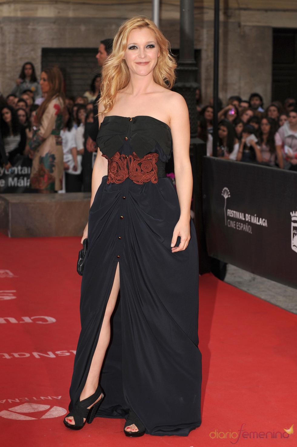 María Esteve en el Festival de Cine de Málaga 2011