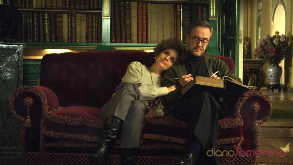 Carlos Hipólito y Adriana Ozores en 'La Duquesa II'