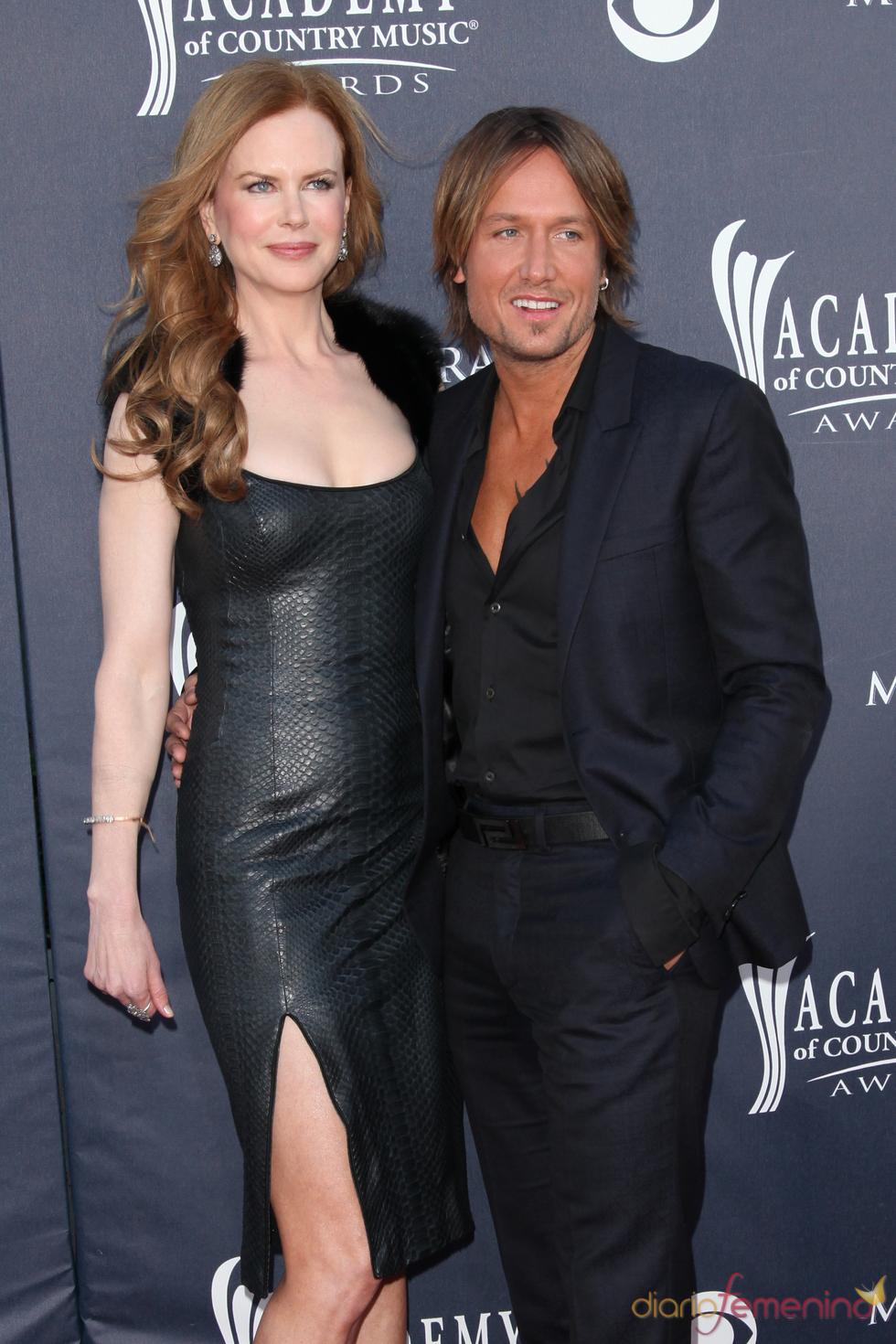 Nicole Kidman y Keith Urban en los Premios de la Academia de Country 2011