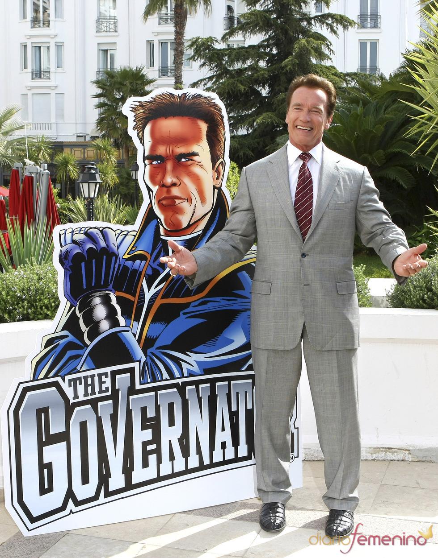 Arnold Schwarzenegger presenta 'The Governator'