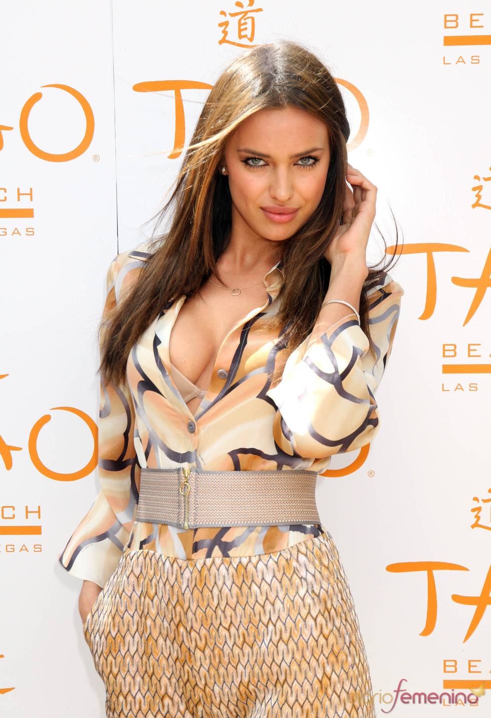 Irina Shayk deja al descubierto su ropa interior