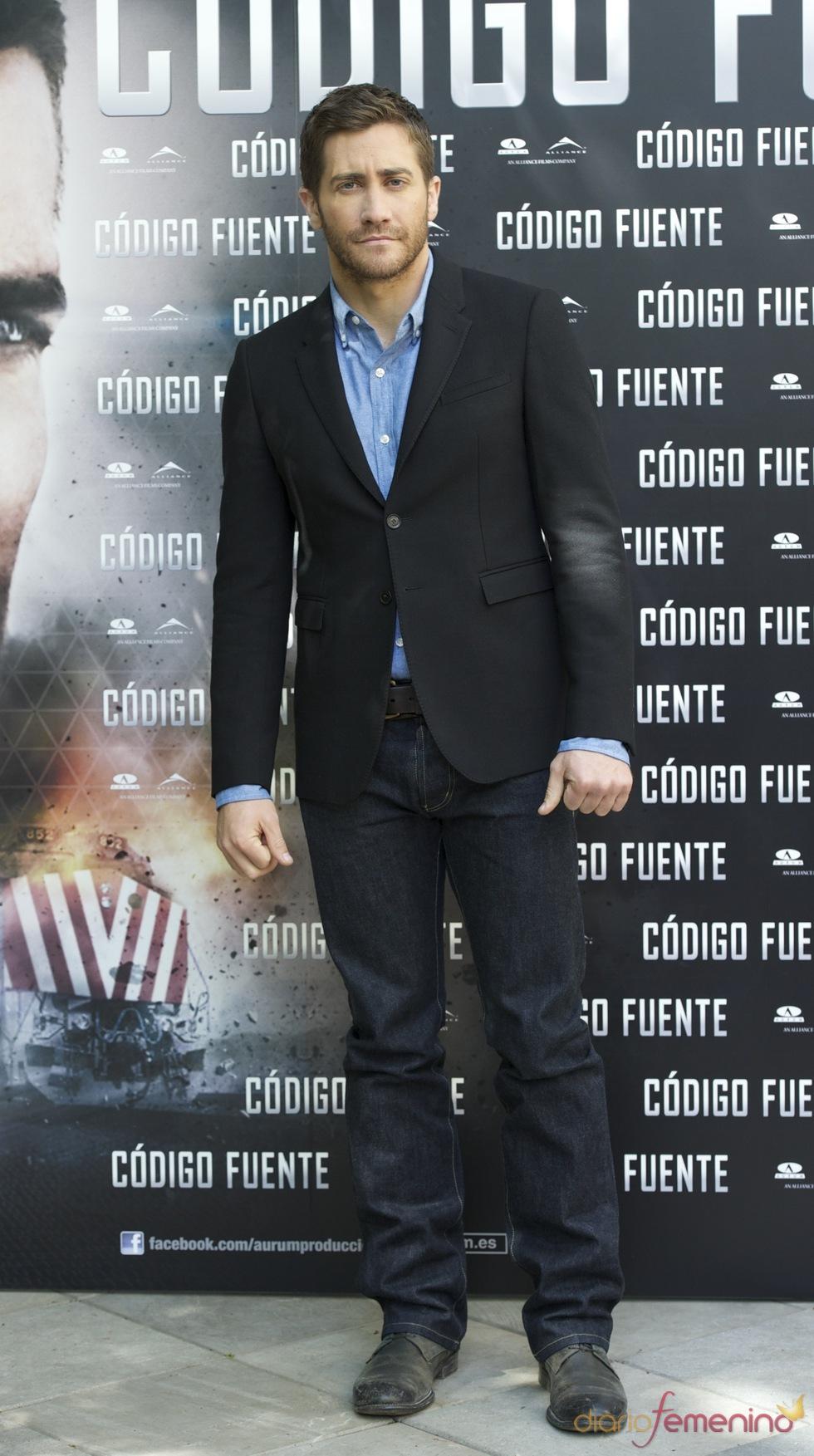 Jake Gyllenhaal presenta en Madrid 'Código Fuente'