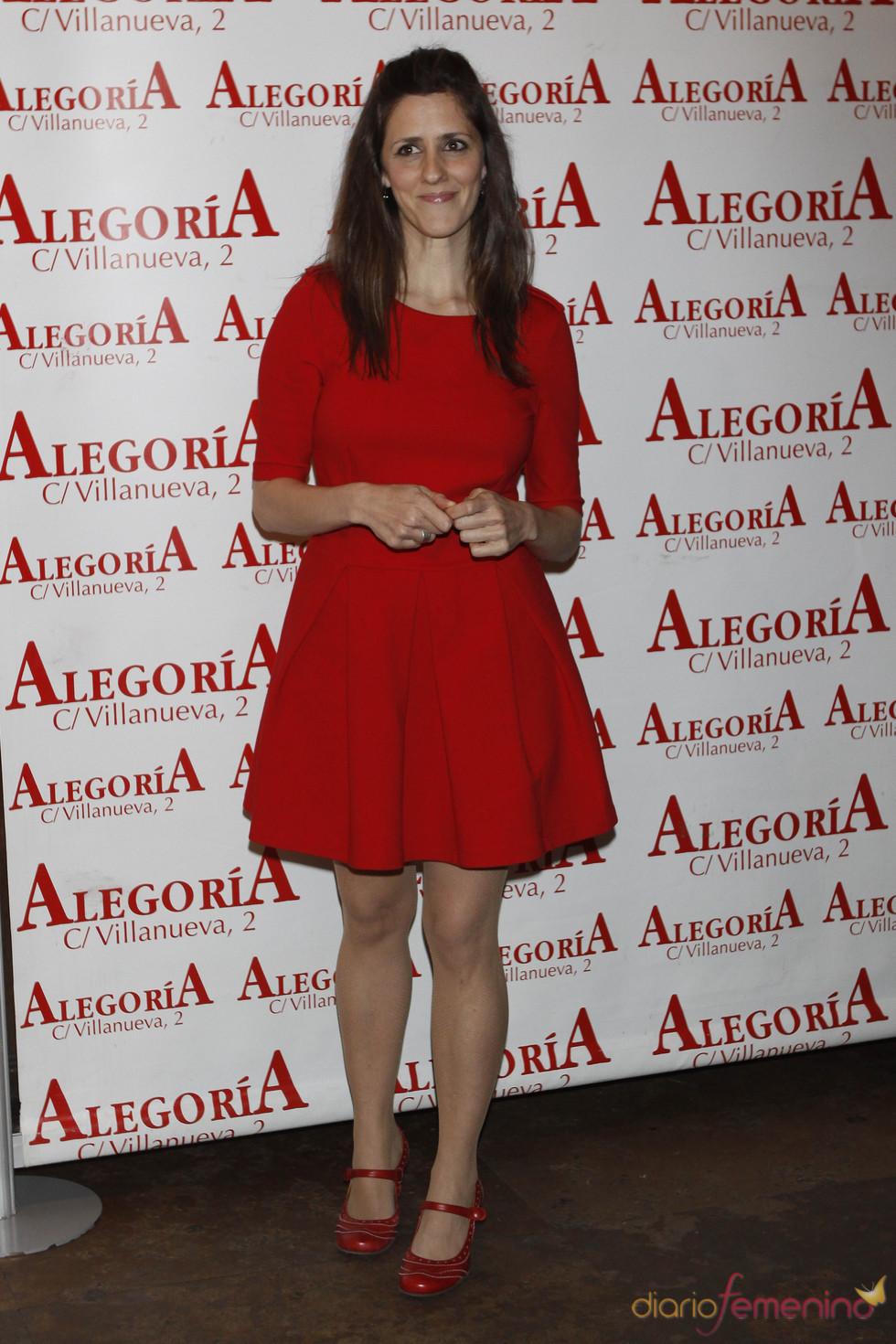 La sexóloga Lorena Berdún en la fiesta por el éxito de 'Torrente 4'