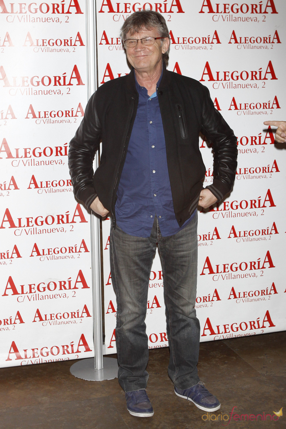 El humorista Eloy Arenas en la celebración del éxito de 'Torrente 4'