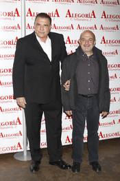 José Luis Gallardo y Jesús Bonilla, en la fiesta de 'Torrente 4'