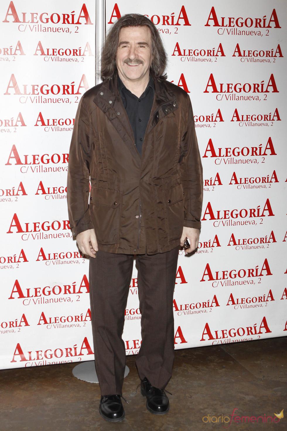 El compositor Luis Cobos en la fiesta de 'Torrente 4'