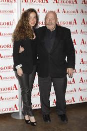 El presentador José María Íñigo y su hija celebran el éxito de 'Torrente 4'