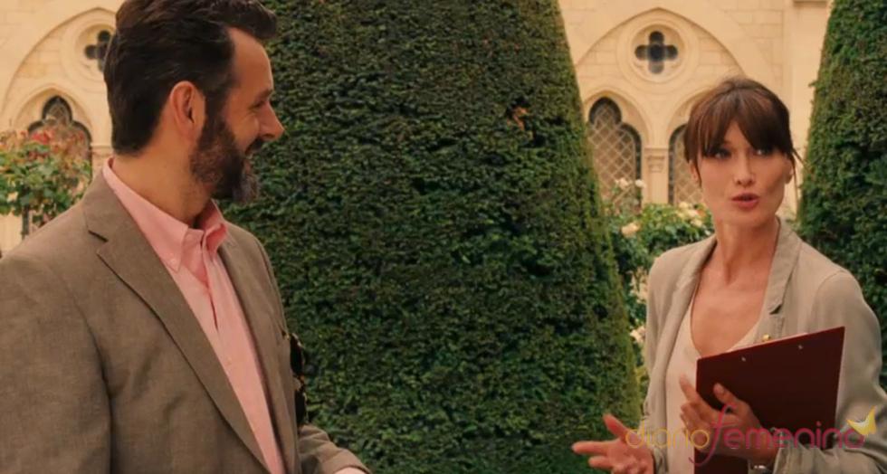 Carla Bruni en la cinta de Woody Allen 'Medianoche en París'