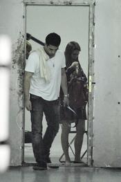 Miguel Ángel Silvestre y Blanca Suárez en una sesión fotográfica