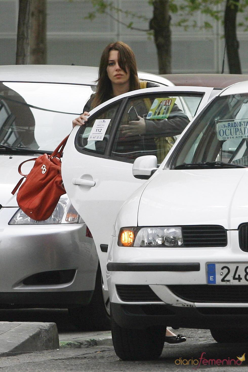 Blanca Suárez después de una sesión de fotos