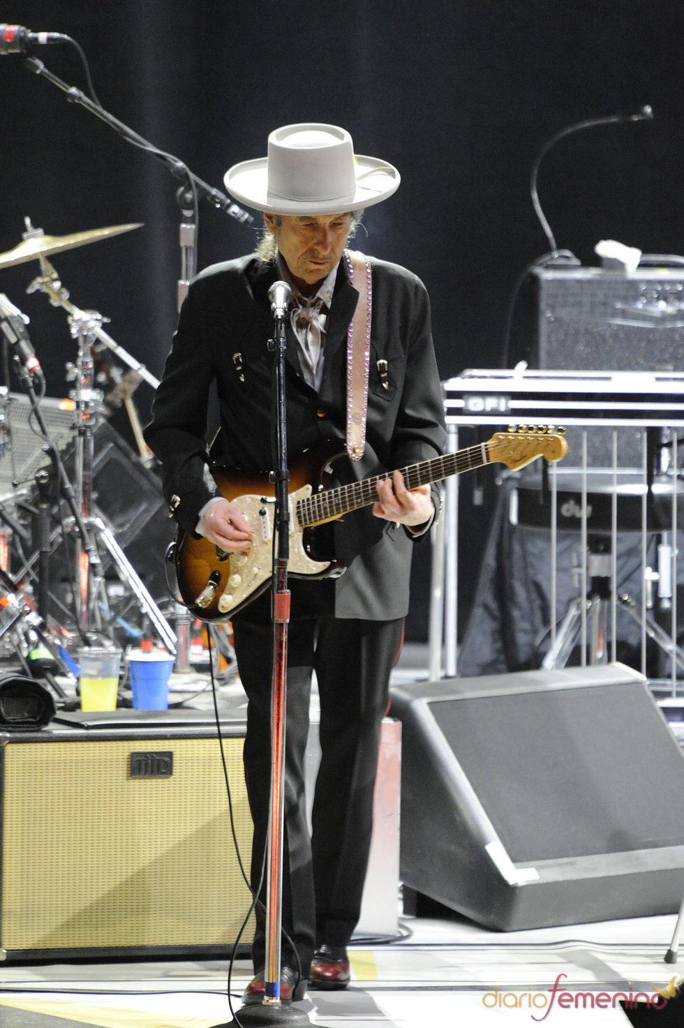 Bon Dylan debuta en un concierto en China