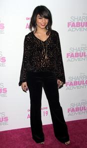Vanessa Hudgens en la premiere de 'Sharpay's Fabulous Adventure'