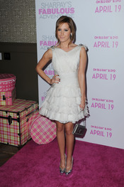 Ashley Tisdale en la premiere de 'Sharpay's Fabulous Adventure'