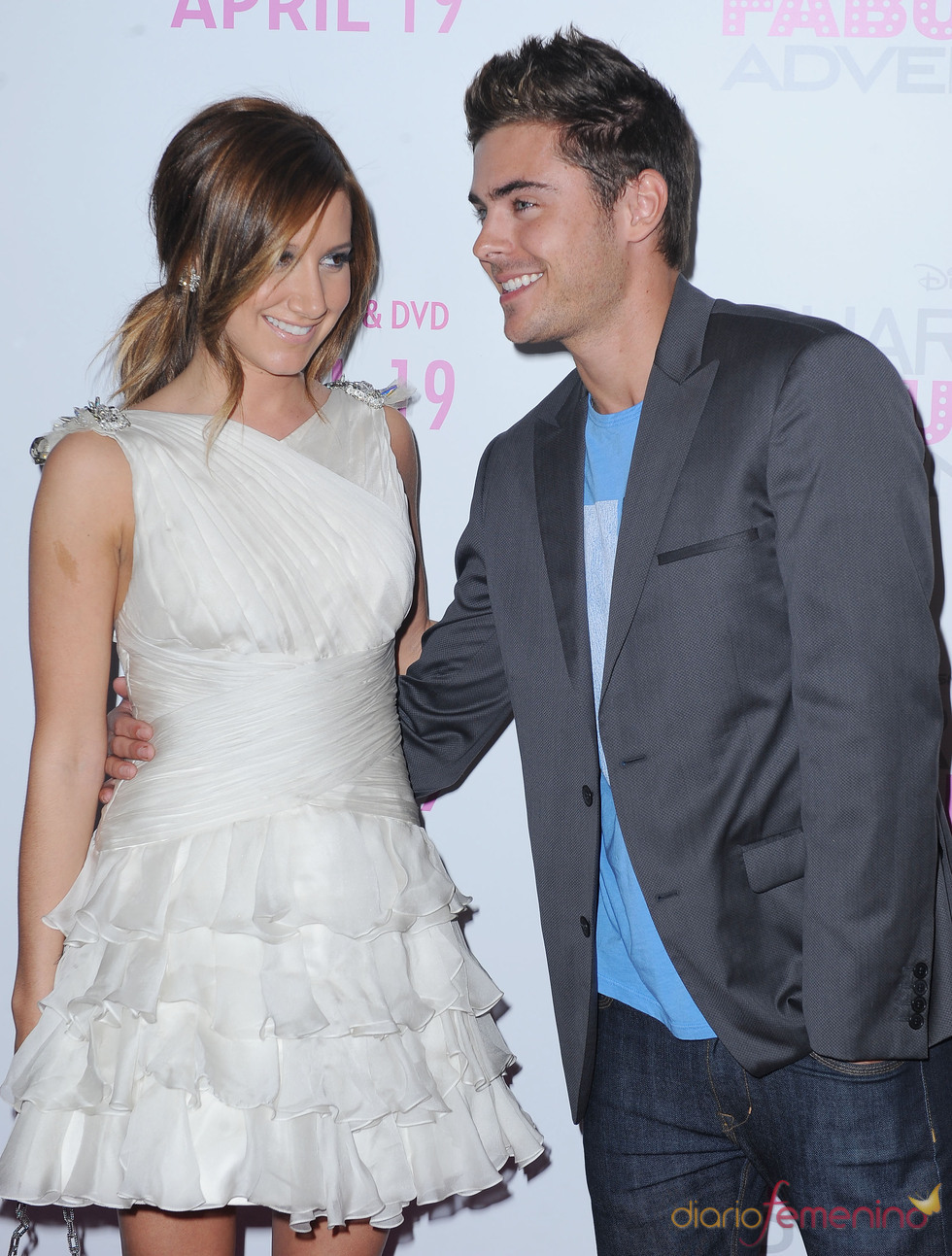 Zac Efron, muy cariñoso con Ashley Tisdale 'Las aventuras de la Fabulosa Sharpay'