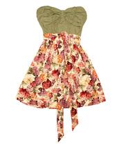 Vestido palabra de honor para la temporada primavera-verano 2011 de Smash!
