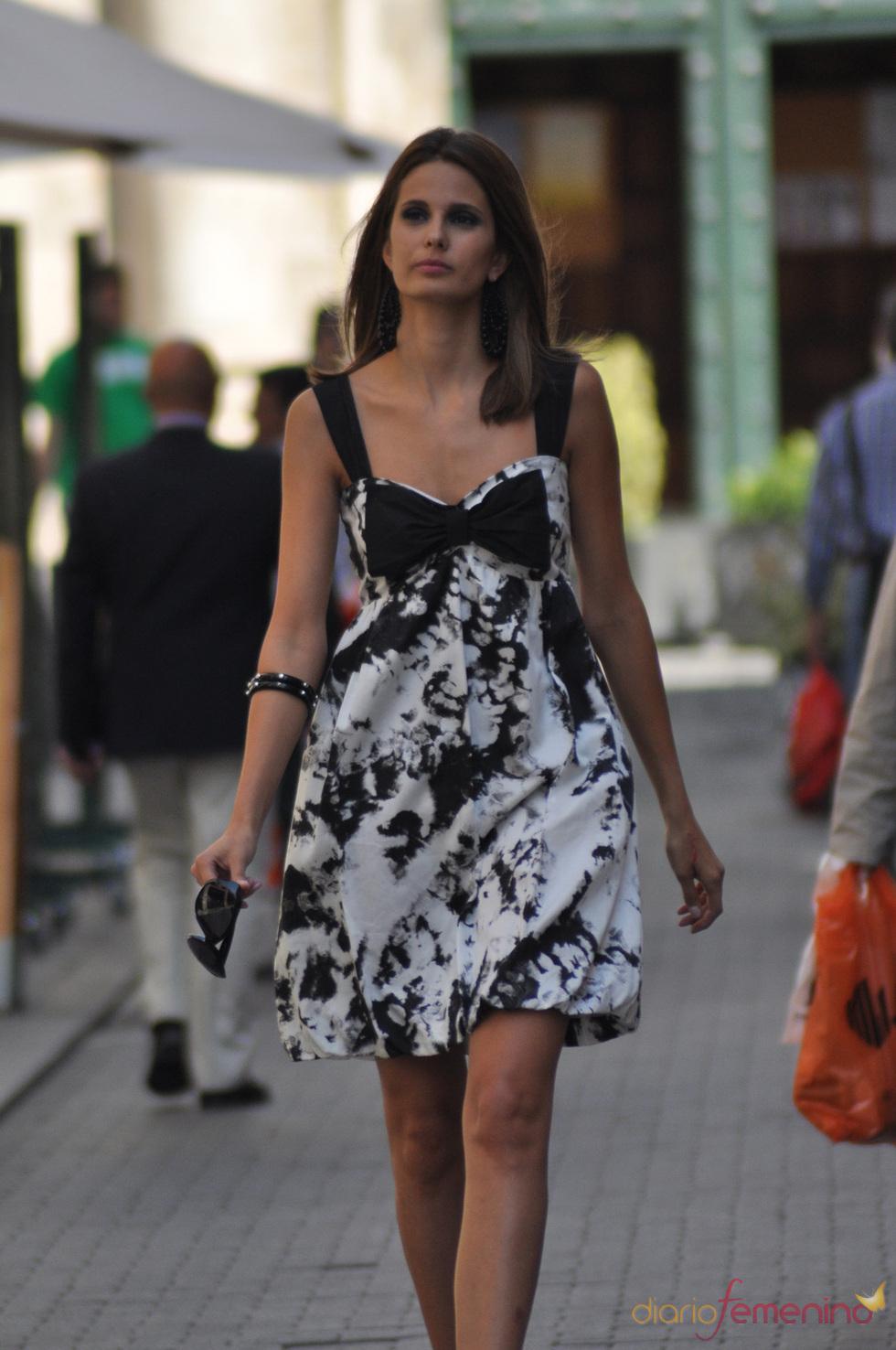 Vestido de fiesta de la marca Piluca Barrero para la temporada primavera-verano 2011