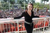 Gloria Estefan en 'Factor X' en Miami