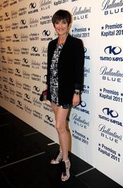 Ana García Lozano posando en los Premios Kapital 2011