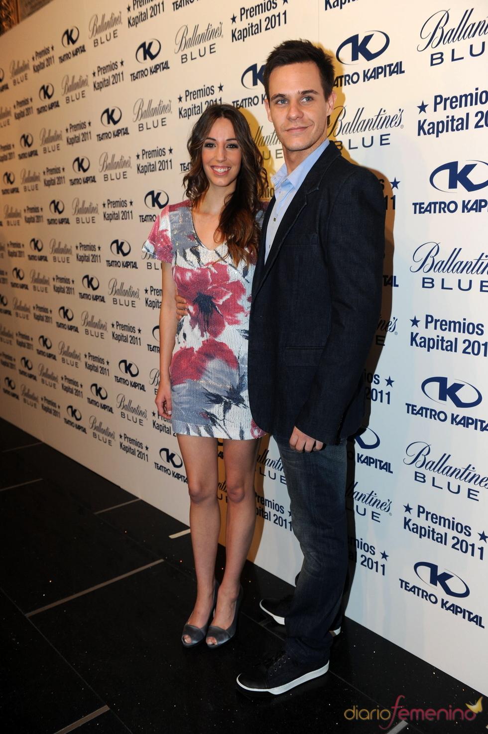 Christian Gálvez y Almudena Cid en los Premios Kapital 2011